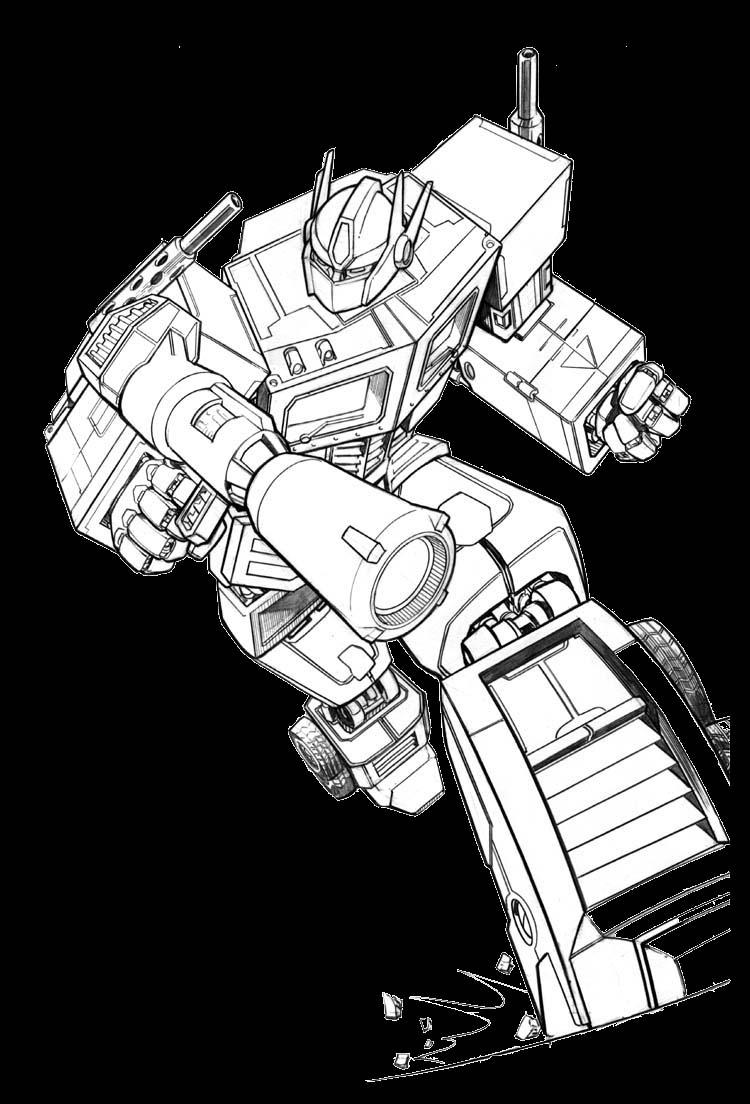 Transformer optimus prime cipta mahakarya - Optimus prime dessin ...
